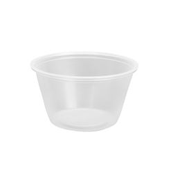 (10-15)PORTION CUP 75000636 CLEAR 4 OZ 2500/CASE