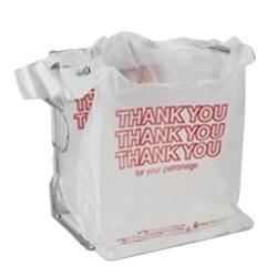 < BAG 1367-2149 T-SHIRT THANK YOU WHITE 11.5X6X21 1000/CS